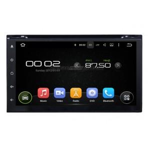 """Autoradio de ultima generación 2DIN UNIVERSAL marca AKRON con DVD Pantalla 6.95"""", sin botones Procesador 4 Nucleos + Camara Retro, GPS, BT, Internet Wifi, TV Digital, Android 6.1 (EN STOCK)"""