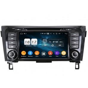 """Autoradio Homologado NISSAN QASHQAI 2014-2018 Procesador 8 Nucleos (64+4) Android 9 - Pantalla 8"""" Tecnologia Ips con CON DVD-WIFI-GPS-BT-Procesador Audio DSP +Cam +TV Full HD (Importación 10D)"""