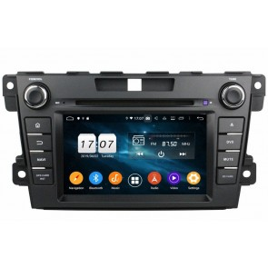 """Autoradio Homologado MAZDA CX7 2006-2012 Procesador 8 Nucleos (64+4) Android 10 - Pantalla 7"""" Tecnologia Ips con DVD-WIFI-GPS-BT-Procesador Audio DSP +Cam +TV Full HD (Importación 10D) PREMIUM series"""