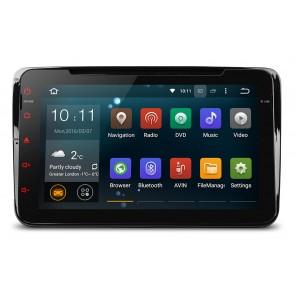 Autoradio homologado SEAT LEON 2005-2012, Android 5.1.1, procesador 4 Nucleos - Pantalla 8
