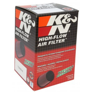 Filtro Aire Universal Cónico Rubber  2 1/2 - 3 1/2 x 4 marca K&N