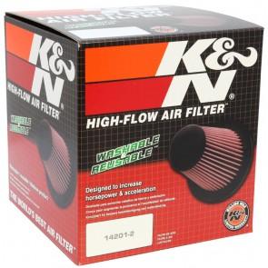 Filtro Aire Universal Cónico Cromado  6 - 7 1/2 x 5 - 5  marca K&N