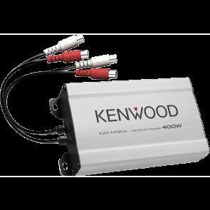 Amplificador de 4 canales marca KENWOOD modelo KAC-M1804