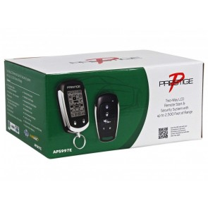 Alarma para vehiculo marca PRESTIGE modelo APS997E