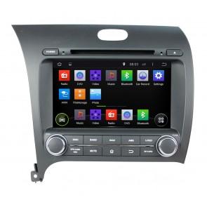 "Autoradio homologado KIA CERATO 2013-17 Procesador de 8 nucleos con sistema operativo Android 6.0.1 - Pantalla 8"" + Camara Retro, DVD-TV-GPS-BT-USB-SD-WIFI (Importación 10D)"