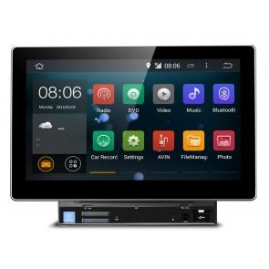"""Autoradio Android de ultima generación UNIVERSAL 2DIN con DVD Pantalla plana 10"""" -16Gb. Memoria + Camara Retro, GPS, Internet, TV (IMPORTACIÓN 7D)"""