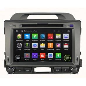 "Autoradio homologado KIA SPORTAGE 2010-2015 Procesador de 8 nucleos con sistema operativo Android 6.0.1 - Pantalla 8"" + Camara Retro, DVD-TV-GPS-BT-USB-SD-WIFI (Importación 10D)"