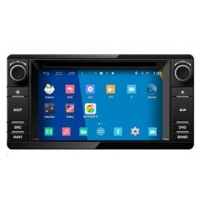 """Autoradio DVD con GPS, Internet 3G y TV para MITSUBISHI PAJERO-MONTERO (2006 - 2015)  con pantalla Tactil de 6.4"""" Sistema DUAL (ANDROID-WINCE) + Camara Retro (Importación)"""