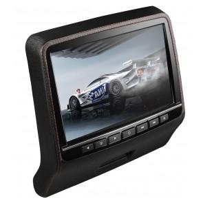 Pantalla marca XTRONS de 9 Pulgadas para cabecera con lector de DVD HDMI -Cuero labrado - EN STOCK (Precio Unitario) HD9PCHBLACK