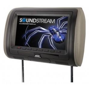 """Cabecera con pantalla con DVD de 9"""" marca SOUNSTREAM modelo VHD-90HD"""