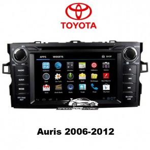 """Autoradio homologado TOYOTA AURIS 2006-2012 Procesador de 8 nucleos con sistema operativo Android 6.0.1 - Pantalla 7"""" + Camara Retro, DVD-TV-GPS-BT-USB-SD-WIFI (Importación 10D)"""