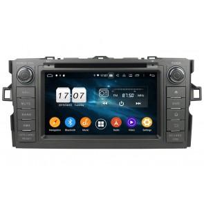 "Autoradio Homologado TOYOTA AURIS 2006-2012 Procesador 8 Nucleos (64+4) Android 9 - Pantalla 7"" Tecnologia Ips con DVD-WIFI-GPS-BT-Procesador Audio DSP +Cam +TV Full HD (Importación 10D)"