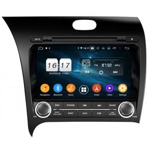 """Autoradio Homologado KIA CERATO 2013-2017 Procesador 8 Nucleos (64+4) Android 9 - Pantalla 8"""" Tecnologia Ips con DVD-WIFI-GPS-BT-Procesador Audio DSP +Cam +TV Full HD (Importación 10D)"""