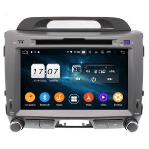 """Autoradio Homologado KIA SPORTAGE 2010-2015 Procesador 8 Nucleos (64+4) Android 9 - Pantalla 8"""" Tecnologia Ips con DVD-WIFI-GPS-BT-Procesador Audio DSP +Cam +TV Full HD (Importación 10D)"""
