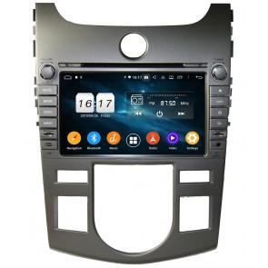 "Autoradio homologado KIA CERATO 2008-2012 CLIMATIZADO Procesador de 8 nucleos - Android 10 - Pantalla 8"" + Camara Retro, DVD-TV-GPS-BT-USB-SD-WIFI (Importación 10D) PREMIUM series"