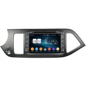 """Autoradio Homologado KIA PICANTO 2012-2016 Procesador 8 Nucleos (64+4) Android 9 - Pantalla 8"""" Tecnologia Ips con DVD-WIFI-GPS-BT-Procesador Audio DSP +Cam +TV Full HD (Importación 10D)"""