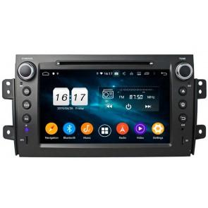 """Autoradio Homologado SUZUKI SX4 2007-2013 Procesador 8 Nucleos (64+4) Android 9 - Pantalla 7"""" Tecnologia Ips con DVD-WIFI-GPS-BT-Procesador Audio DSP +Cam +TV Full HD (Importación 10D)"""