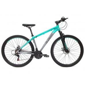 "Bicicleta ELLEVEN modelo GEAR aro 29"" Talla L (Gris con Celeste)"