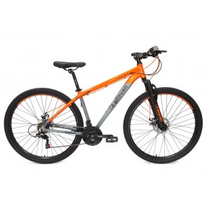 "Bicicleta ELLEVEN modelo GEAR aro 29"" Talla L (Gris con Naranja)"