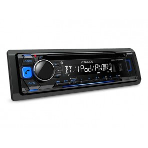 Autorradio con bluetooh marca KENWOOD modelo KDC-MP368BT