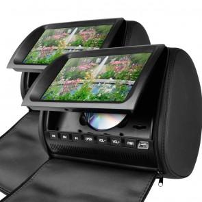"""Combo 2 Cabezales 9"""" marca XTRONS con Lector de DVD / Puerto USB / SD / Color NEGRO (En Stock) HD905SSB"""