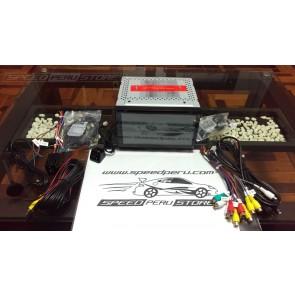 Autoradio de ultima generación 2DIN UNIVERSAL marca AKRON con DVD Pantalla 6.95