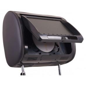"""Cabecera de asiento con pantalla 7"""" marca POWER ACOUSTIK reproductor DVD/USB/SD"""