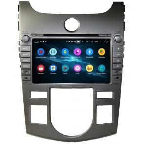 Autoradio homologado KIA CERATO 2008-2012 CLIMATIZADO Procesador de 8 nucleos - Android 9.0 - Pantalla 8