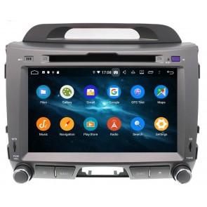 Autoradio Homologado KIA SPORTAGE 2010-2015 Procesador 8 Nucleos (64+4) Android 9 - Pantalla 8