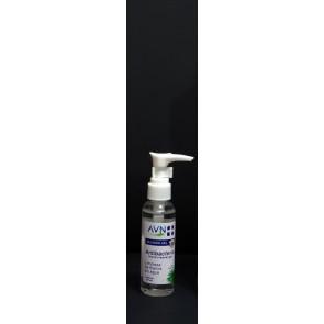 Alcohol en gel al 75% - Botella de bolsillo de 60ml con dispensador