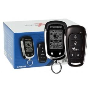 Alarma para vehiculo marca PRESTIGE modelo APS596E