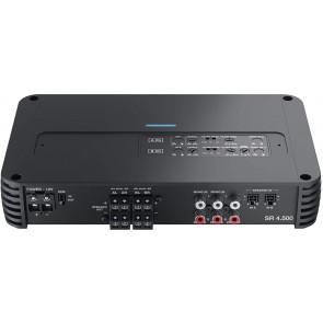 Amplificador de 4 canales con Crossover marca AUDISON modelo SR 4.500