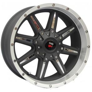 """Juego de aros marca VARELOX WHEELS  modelo 8091 BLP/M - 20""""x10"""" - 5x127"""