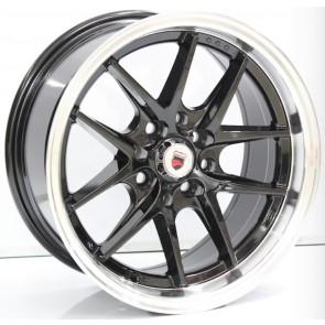 """Juego de aros marca VARELOX Wheels  modelo Z818  b2 - 14""""x7.5"""" - 4x100 (8h)"""