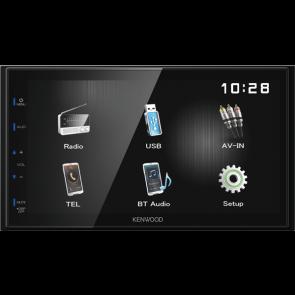 "Equipo multimedia 2DIN 6.8"" marca KENWOOD modelo DMX-110BT"