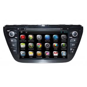 "Autoradio homologado SUZUKI SX4 2014-2016 Procesador de 8 nucleos con sistema operativo Android 6.0.1 - Pantalla 8"" + Camara Retro, DVD-TV-GPS-BT-USB-SD-WIFI (Importación 10D)"