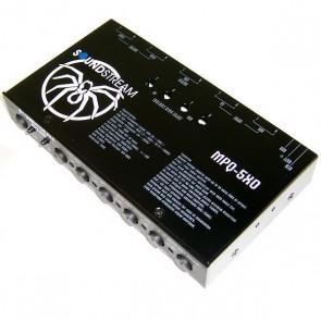 PREVIO de 4 bandas  marca SOUNDSTREAM  modelo MPQ-5XO