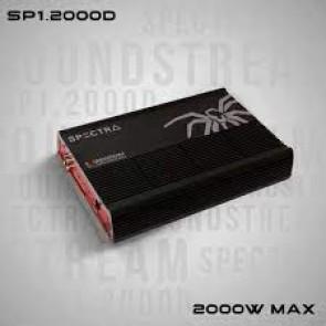 Amplificador de marca SOUNDSTREAM modelo SP1.2000D