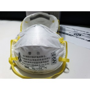 Mascarilla Respirador 3M N95 modelo 8210CN (UNA CAJA X 20 UNIDADES)  3M SINGAPORE