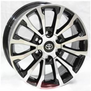 """Juego de aros RPC Wheels  modelo A6067  mb - réplica - 17""""x7.5"""" - 6x139.7 - Camioneta"""