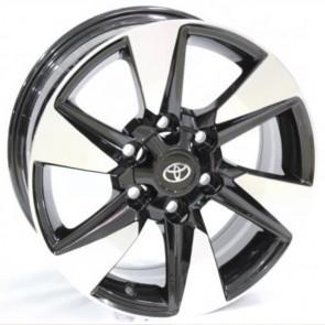 """Juego de aros RPC Wheels  modelo A6122  mb - réplica - 17""""x7.5"""" - 6x139.7 - Camioneta"""