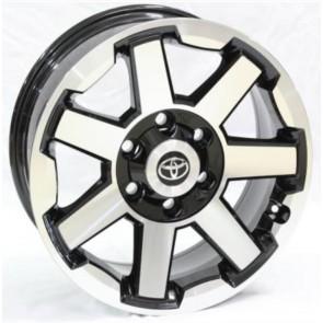 """Juego de aros RPC Wheels  modelo A762  mb - Réplica - 17""""x7.5"""" - 6x139.7 - Camioneta"""