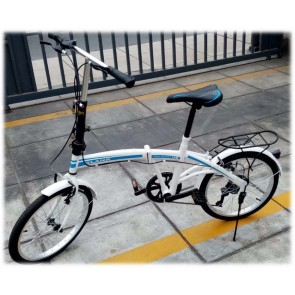 Bicicleta Plegable -Tipo Scooter GLANK SP-AB01-13-BL
