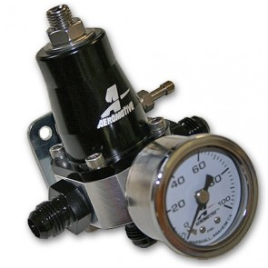Regulador de presion de gasolina con reloj aeromotive (Origen USA)