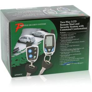 Alarma para vehiculo marca PRESTIGE modelo 997E