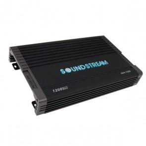 Amplificador de 4 canales marca SOUNDSTREAM modelo AR4.1200