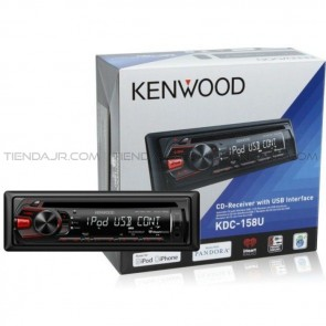 Autoradio Kenwood KDC-MP158U Bluetooth/CD/MP3/USB 1 Din