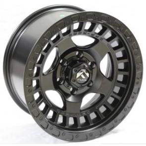 """Juego de aros RPC Wheels  modelo B7279  matt black - réplica - 17""""x9.0"""" - 6x139.7"""