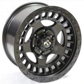 Juego de aros RPC Wheels  modelo B7279  matt black - réplica - 17