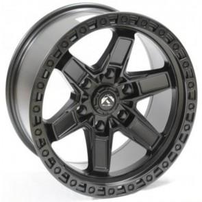 """Juego de aros RPC Wheels  modelo B7293  matte black - réplica - 17""""x9.0"""" - 6x139.7"""